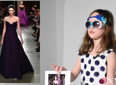 News video: Daily News Kid Fashion Critic Reviews NYFW Runway Styles